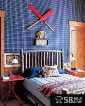 美式风格儿童房装修效果图大全2012图片