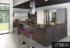 开放式厨房设计效果图片