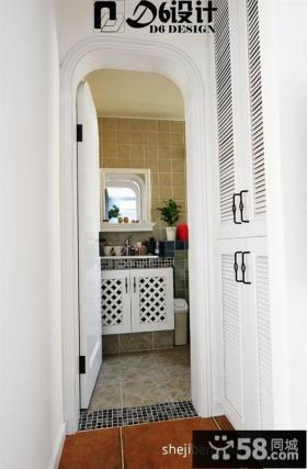 简约风格小户型卫生间设计效果图