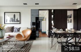 小户型客厅餐厅一体式设计