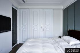 现代设计卧室电视背景墙图片