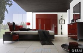 现代装修风格卧室整体衣柜设计效果图