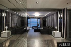 现代简约整体客厅吊顶装修效果图大全