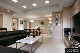 现代简约风格家庭室内装修设计效果图