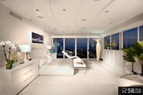 现代简约欧式风格卧室设计图片