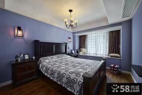 时尚设计卧室吊顶图欣赏