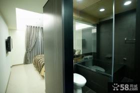 110平米现代风格三室一厅室内设计图片