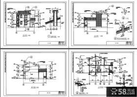 三层建飞别墅设计图纸及效果图大全