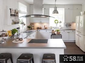 欧式厨房橱柜装修效果图欣赏