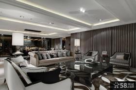 后现代风格家装客厅装修图片欣赏