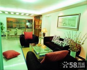 80平米小户型简约客厅装修图片