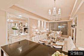 新古典风格别墅室内家装图片
