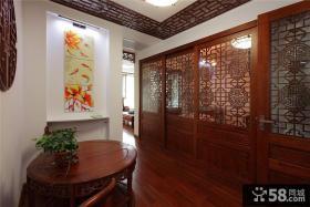 古典中式家居过道装修展示