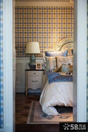 欧式风格卧室床头灯具效果图片欣赏