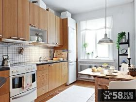美式家装设计厨房装修图2014