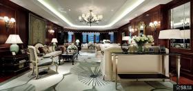 美式新古典风格140平米四居室装修效果图欣赏大全