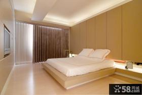 现代卧室房间装修设计图片