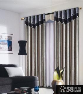 客厅阳台窗帘效果图 现代窗帘装修效果图