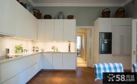 简约型厨房橱柜效果图欣赏
