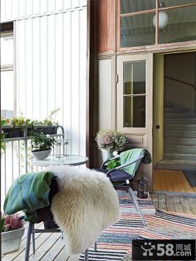 小阳台花园设计