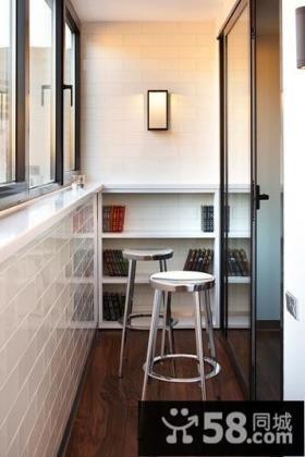 阳台吧台居室