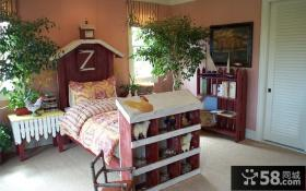 美式田园风格复式家庭儿童房装饰图片