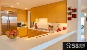 家用开放式厨房隔断设计