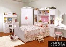 现代欧式卧室樟木家具效果图