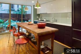 宜家风格阳台厨房装修效果图片