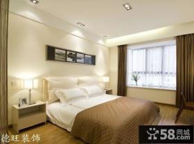 小户型卧室飘窗设计效果图欣赏