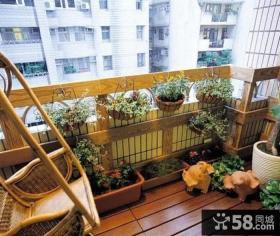 家庭设计2平米阳台图片大全