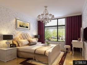 简约欧式风格装修卧室装修图片