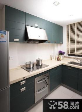 小厨房橱柜设计图欣赏