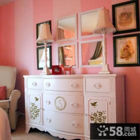 欧式卧室梳妆台设计图