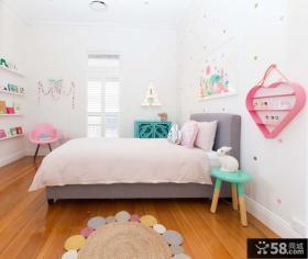 女生小孩儿童房设计装饰