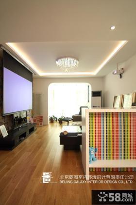 小户型客厅影视墙设计