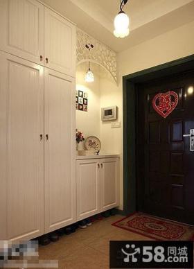 家装玄关鞋柜图片