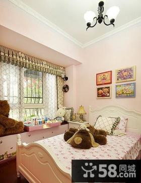 美式田园风格儿童房装修图片