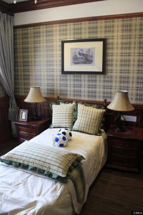 美式设计卧室床头灯具图片欣赏