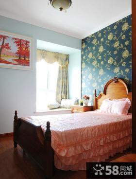 家居卧室墙纸效果图