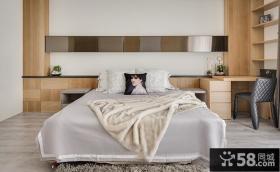 现代奢华10平米卧室