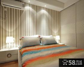 优质现代卧室墙纸图片大全