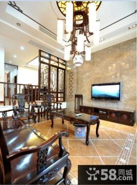 中式古典装潢别墅