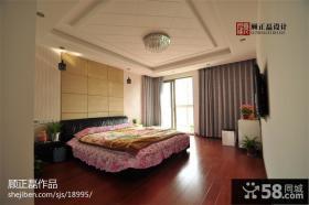 时尚现代风格卧室床头软包皮背景墙效果图片大全