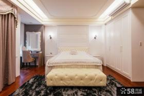 时尚简欧式卧室装修效果图