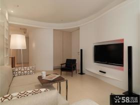 78平米简约小户型室内装修设计图片大全