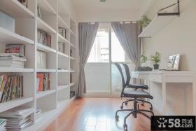 简约风格书房室内设计效果图片