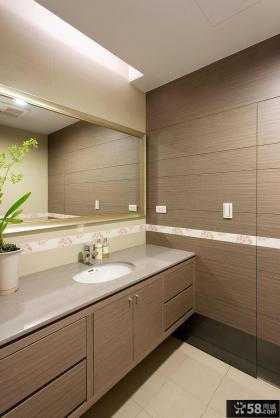 现代风格简约舒适设计卫生间