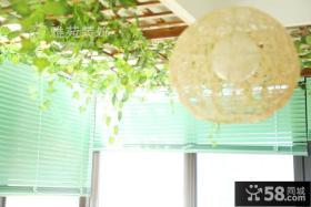 田园风格室内餐厅吊顶图片大全