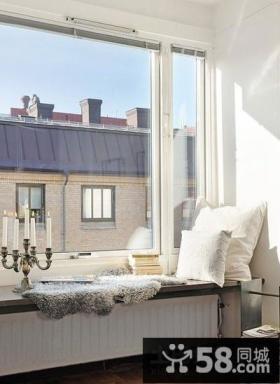 北欧风格的飘窗装修效果图 飘窗设计图